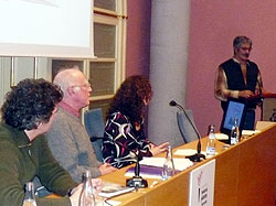 Acte de lliurament del I Premi Helena Jubany de narrativa curta o recull de contes (2 desembre 2008)