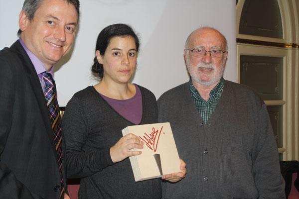 Marina Guardiona guanya el IV premi Helena Jubany